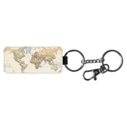 Världskarta Nyckelring