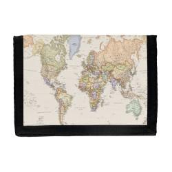 Världskarta Plånbok