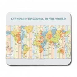 Världens Tidszoner Karta...