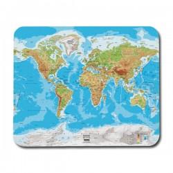 Världs Fysisk Karta Musmatta