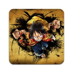 2 ST One Piece Luffy Underlägg