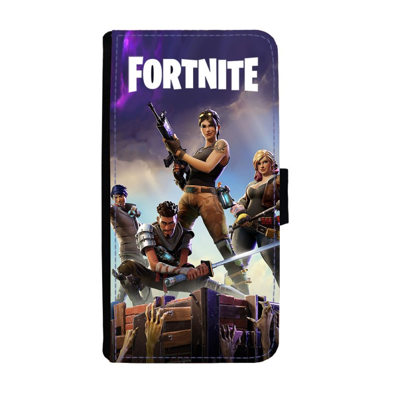 watch ab33f b6aec Fortnite Samsung Galaxy S6 Edge Flip Wallet Case