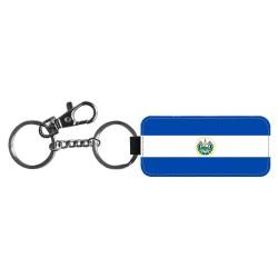 El Salvador Flagga Nyckelring