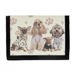 Hundar Plånbok