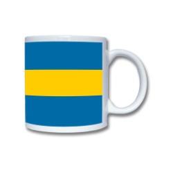 Mugg Med Svensk Flagga