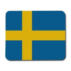 Svensk Flagga Musmatta