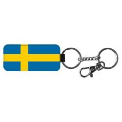 Svensk Flagga Nyckelring