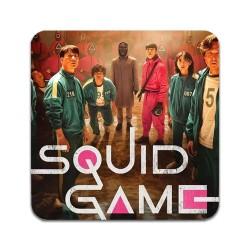 4 ST Squid Game Underlägg